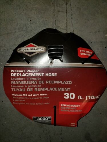 30' Briggs And Stratton Power Washer Replacement Hose New