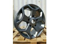 NEW LOAD RATED 18'' FORD TRANSIT ST VAN ALLOY WHEELS X4 5X160 MK6 MK7 MK8 CUSTOM LWB SWB 1000KG
