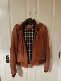 Next Tan Leather Jacket
