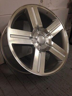 4 New 22X9 Texas Edition Chevrolet Silverado Oe Wheels 6X5 5