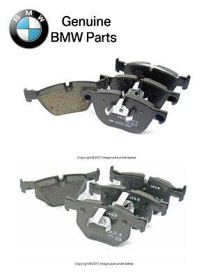 For BMW E70 E71 X5 X6 xDrive30i 35d 35i Front Brake Pad Set /& Sensor Genuine