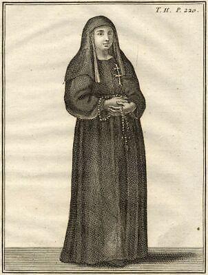 Kostüm Italien ROM Schwester Krankenhaus Heiliger Geist - Drucken