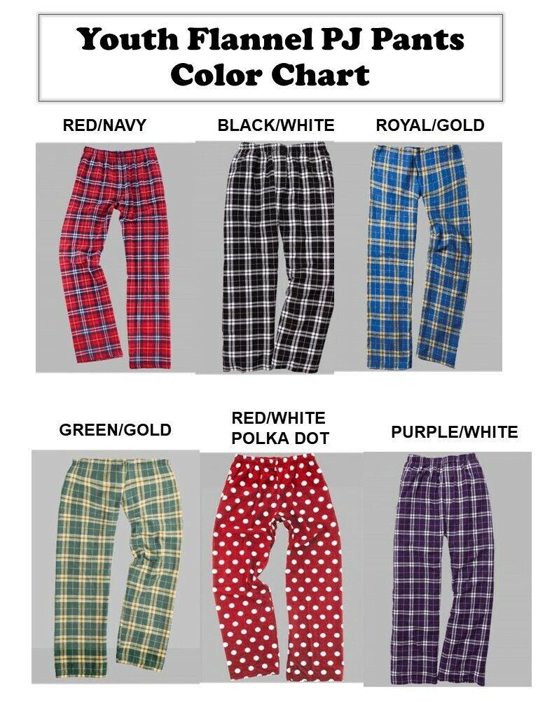 Youth Flannel PJ Pajama Pants