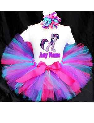 My Little Pony Twilight Sparkle Tutu Outfit Birthday Custom Any Name