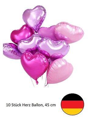 a Pink Folie Set Helium Hochzeit Geburtstag Herz Liebe (Liebe Luftballons)