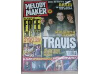 55 MELODY MAKERS MAGAZINES OCTOBER 27th 1999 - JANUARY 2nd 2001