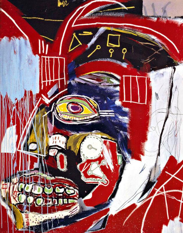 Jean Michel Basquiat In This Case Canvas Print 16 x 20     #3278