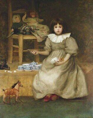Walker Agnes The Tea Party Canvas Print 16 x 20   -