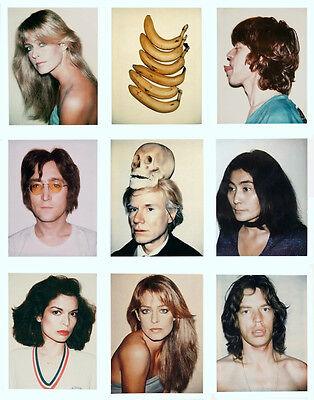 Andy Warhol And Friends #4 Print 11 x 14  #  #3112