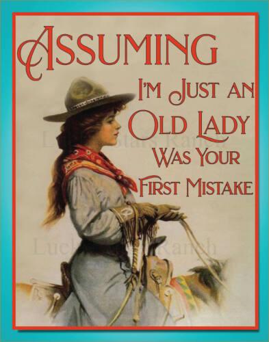 Cowgirl - Assuming I
