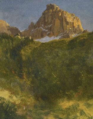 Bierstadt Albert Estes Park Colorado Canvas 16 x 20  (Albert Bierstadt Estes Park)
