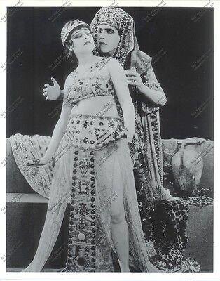 8x10 reprint still from 'Cleopatra' (1917) starring sexy Theda Bara vamp +BONUS!