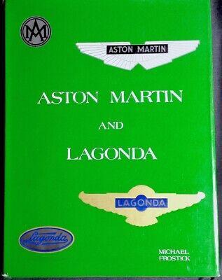 Aston Martin and Lagonda Michael Frostick 0901564249 1977Dalton - Watson Ltd Modeschmuck
