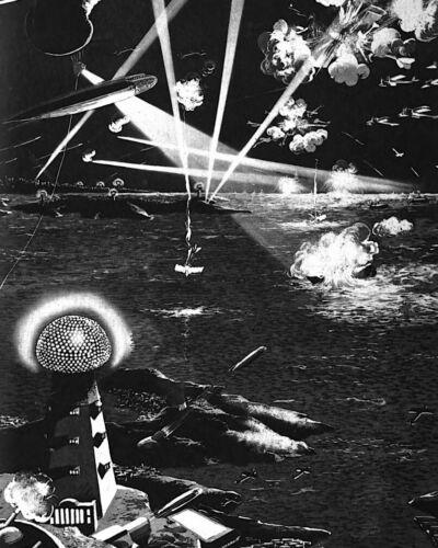 Death Ray Nikola Tesla 8X10 Photo American inventor engineer futurist AC #10
