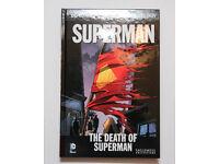 Details about DC COMICS GRAPHIC NOVEL COLLECTION SUPERMAN THE DEATH OF SUPERMAN VOLUME 16
