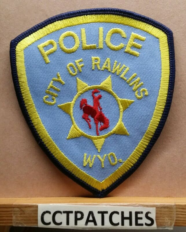 CITY OF RAWLINS, WYOMING POLICE SHOULDER PATCH WY