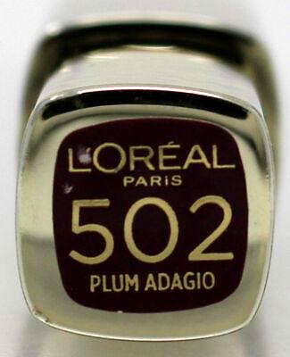 L'Oreal Paris Colour Riche Extraordinaire Lip Gloss 502 Plum Adagio 0.18 (L Oreal Paris Colour Riche Extraordinaire Lip Gloss)