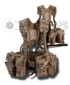 MOLLE-PARA-AIRBORNE-SPECIAL-FORCES-WEBBING-MULTICAM-MTP-CAMO-MODULAR-SAS-SOLIDER
