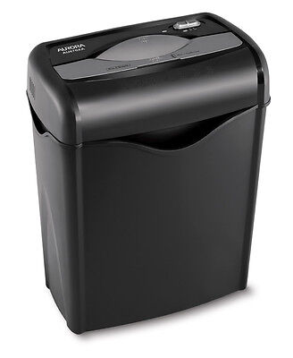 AU670XA AURORA 6 Sheet Cross-cut Paper / Credit Card Shredder Home Office Use