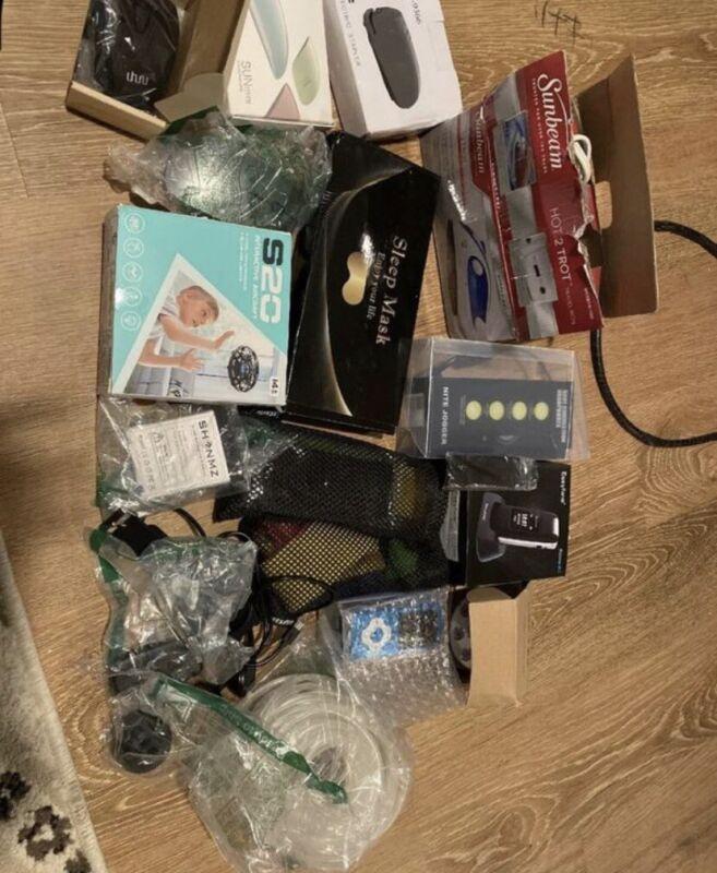 Huge Box Of Mixed Amazon Electronics