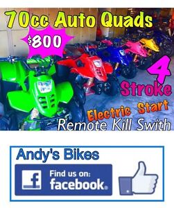 KIDS QUAD 70cc 4stroke Automatic... XMAS SPECIAL $800 Deception Bay Caboolture Area Preview
