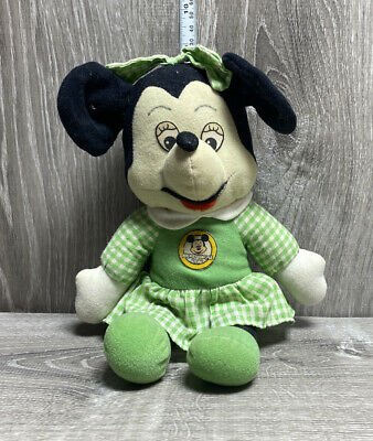 Disney Minnie Mouse Plush Knickerbocker Mickey Mouse Club Dress Vintage 1976