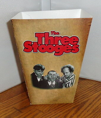 Three Stooges Popcorn Box 1. Comedy.....free Shipping