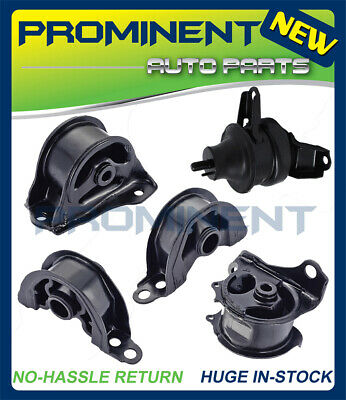 Engine Motor & Trans Mount 5PCS For 1997-2001 Honda CR-V CRV 2.0L AT Auto Trans. 1997 2001 Honda Crv Auto