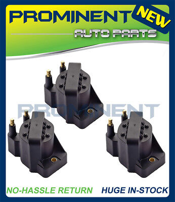 Set of 3 Ignition Coils DR39 For Buick Cadillac Chevrolet Oldsmobile Pontiac ()