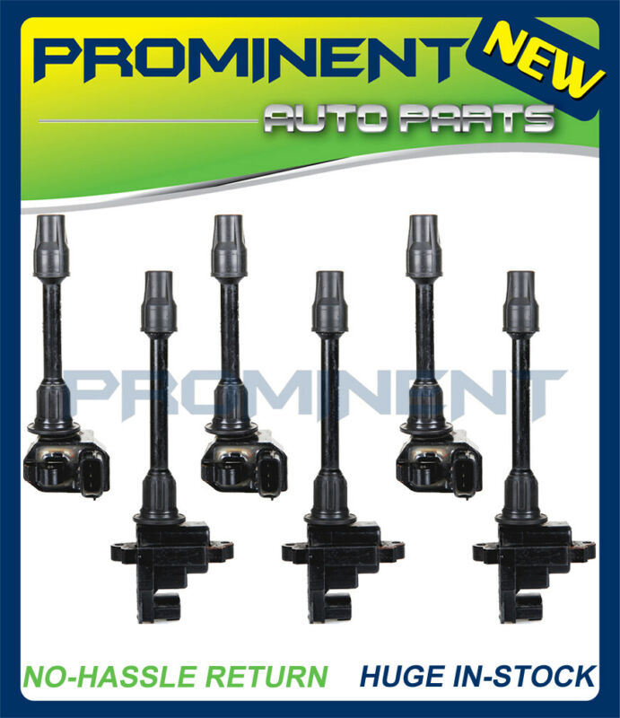 Set of 6 New Ignition Coil UF138 /& UF263 for Nissan Maxima Infiniti I30 3.0L V6