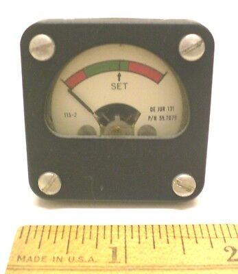 Dc Microamp Meter 0-225 Uadc Military Sealed 1 34 Meter De Jur Usa
