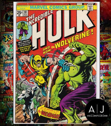 The Incredible Hulk #181 VG/FN 5.0 (Marvel) MVS INTACT!