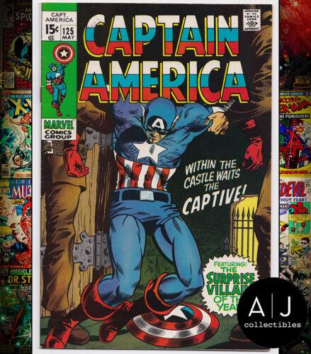 Captain America #125 VF 8.0 (Marvel)