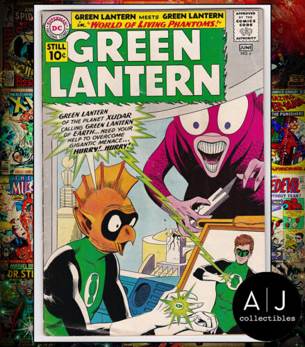 Green Lantern #6 (DC) VG - FN! HIGH RES SCANS!