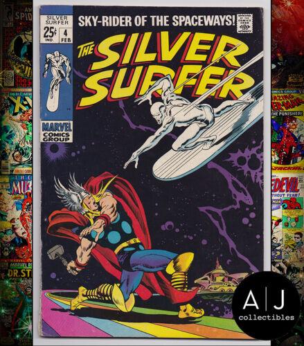 Silver Surfer #4 FN 6.0 (Marvel)