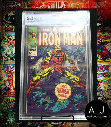 Iron Man #1 CBCS 5.0 (Marvel) HIGH RES PICTURES!