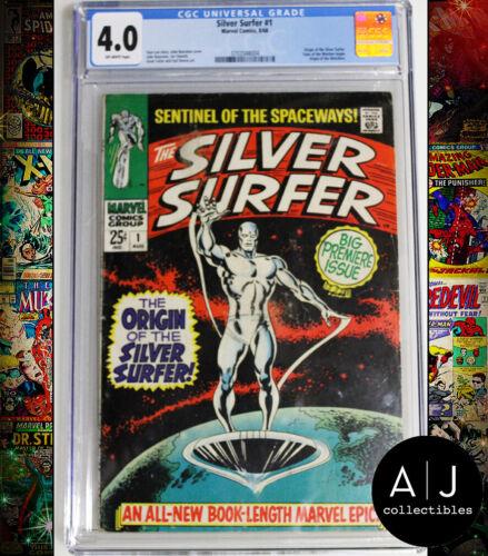 Silver Surfer #1 CGC 4.0 (Marvel)