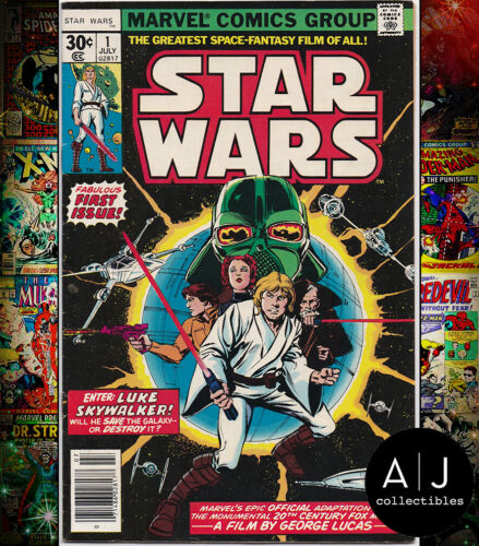 Star Wars #1 VF/NM 9.0 (Marvel) 1977 First Print