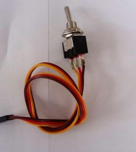 Ausbauschalter für z.B. für Graupner Anlagen -MC10--MC12--FM314--FM414