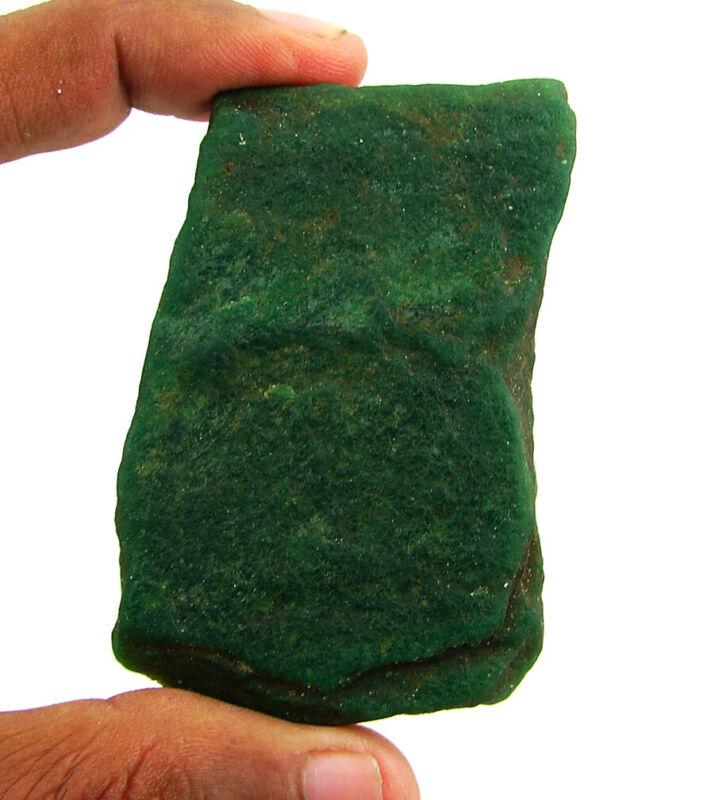 330.80 Ct Natural Raw Green Aventurine Loose Gemstone Rough Stone Specimen- 9147