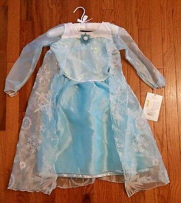 Disguise Disney Frozen Deluxe Elsa Costume sz 4-6 child