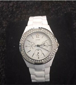 Guess White Ladies Watch New RRP $329 Landsdale Wanneroo Area Preview