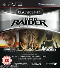 Tomb Raider Trilogy HD PS3 Sony PlayStation 3 Brand New Factor Sealed