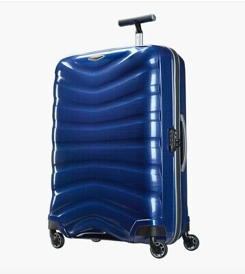 "CHEAP! Brand New Samsonite Firelite 28"" Spinner  Luggage DEEP BLUE"