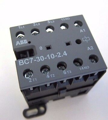 New Abb Iecen 60947-4-1 Bc7-30-10-2.4 Mini Contactor