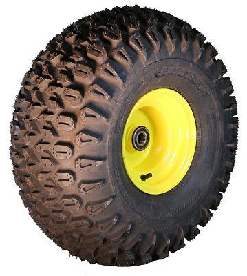 1) 22.5x10-8 Carlisle HD Field Trax ATV Tire & John Deere Ga