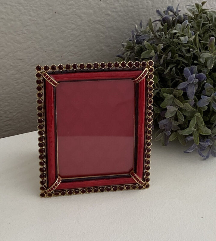 Jay Strongwater New Emilia Picture Frame 3x4