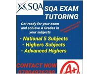 TUTOR EXPERIENCED NATIONAL5/HIGHERS/ADVANCED HIGHERS PROFESSIONAL EXPERIENCED
