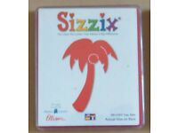 Sizzix Large Red Die: - Palm Tree - Pt. No. 38-0183