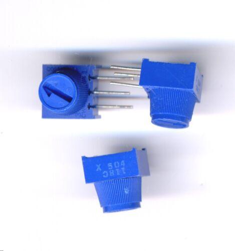 500 K ohm Trimmer - Single Turn with Knob - 2 pcs